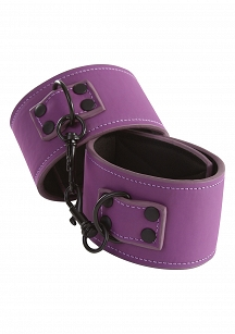LUST BONDAGE ANKLE CUFFS PURPLE