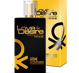 Love & Desire z feromonami - PREMIUM EDITION damskie - 100 ml