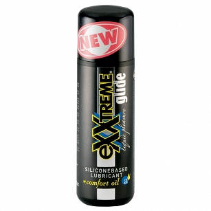 eXXtreme Glide- 100ml siliconebased lubricant + comfort oil