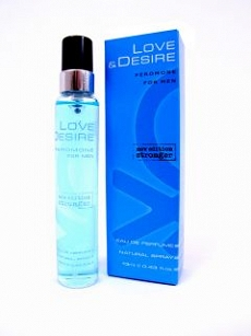 LOVE & DESIRE męskie 15 ml - z feromonami